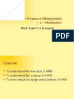 Human Resource Management – an Introduction