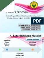 Seminar Proposal Show