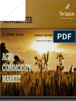 Daily Agri News Letter 11 June 2014