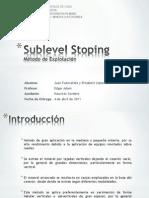 sublevelstopingjuanfuenzalidaelizabettlopez-120327103805-phpapp02