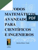 Metodos Matematicos Avanzados Para Cientificos e Ingenieros