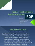 Gases – Combustibles e Instrumentos Automotrices