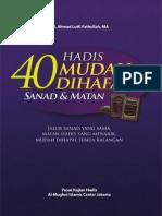 Download eBook 40 Hadis Mudah Di Hapal