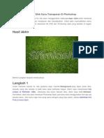 Cara Membuat Teks Efek Kaca Transparan Di Photoshop.docx