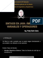 Ambito de Variables y Operadores Primera Parte