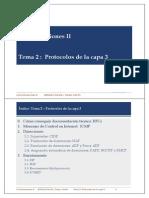 Tema 2 Capa 3 Protocolos