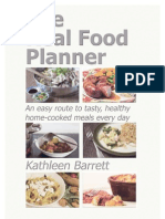 The Real Food Planner Sample