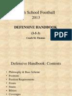 Defensive Handbook