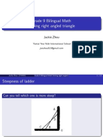 solving right angled triangle