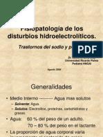 Fisiopatología de Los Disturbios Hidroelectrolíticos y Manejo de La Deshidratación