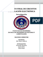 proyecto circuitos SEMAFORO