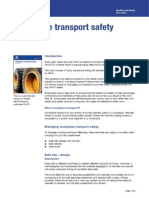 Transport Safety Workplace