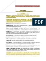 Ley de Condominio Del Edo. de QRoo