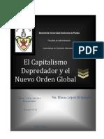 El Capitalismo y El Nuevo Orden Global
