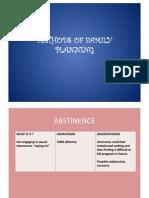 methods of family planning