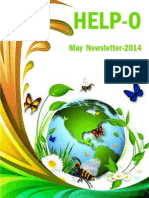 HELP-O May Newsletter Newsletter - English