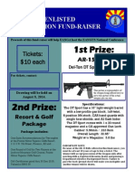 EANGA Fund-Raiser - AR15 Rifle and Resort/Golf Package (2014)