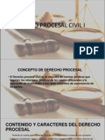 Concepto de Procesal Civil