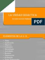 Partes de La Unidad Didctica Eprimaria 10081