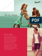 Vespa Brochure in India