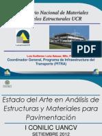 Estado Del Arte en Análisis de Estructuras y Materiales Para Pavimentación-phd Luis Guillermo Loria