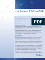 Magic Quadrant for Enterprise Architecture Tools 2008