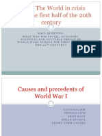 Causes and Precedents of Wwi4 (1)