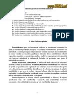Analiza Diagnostic a Rentabilităţii Firmei