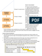 IST Year 9-10 Project Development