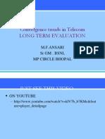 Service Convergence FUTURE of TELECOM