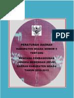 Rpjmd 2010-2015 Kab Ngada
