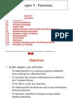 Week 8 C5 Functions