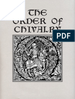 Caxton, William & Morris, William (Trans) - The Order of Chivalry
