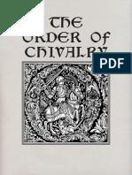 Caxton, William & Morris, William (Trans) - The Order of Chivalry
