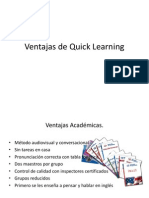 Ventajas de Quick Learning