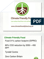 Climate Friendly Food Presentation