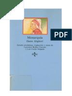 Dante Alighieri- Monarquia