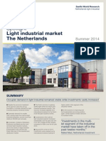 Savills Light Industrial Market Summer 2014