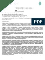 Decreto n 2789 Establece Plazo de Vigencia Ley 26160