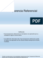 Transparencia Referencial