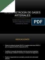Interpretacion de Gases Arteriales
