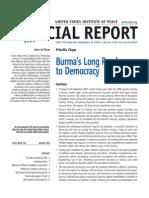 Burma Long Road to Democracy