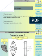 Coupes et sections