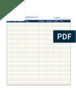 Organizational telephone  list1
