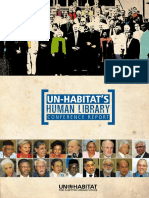 UN-Habitat's Human Library Conference Report