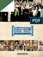 UN-Habitat's Human Library Conference Report