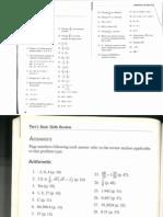 Arithmetic Diagnostic Test