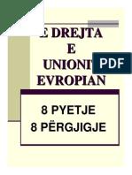 E drejta e Unionit Europian