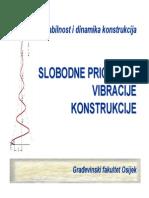 Dinamika Predavanja004 Slobodne Prigusene Vibracije
