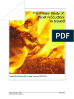 Preliminary Study of Pellet Production in Ireland